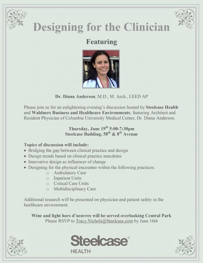 Dr Diana Anderson Invitation